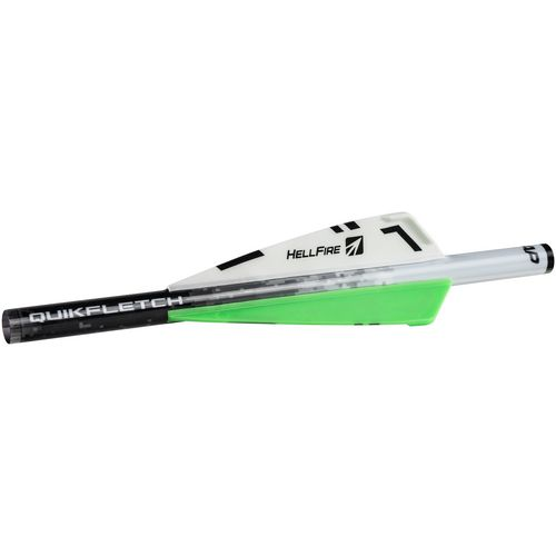 New Archery Products QuickFletch Hellfire 3 in Vane