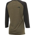 The North Face Women's Explore Buff Basketball 3/4 Sleeve T-shirt - view number 2