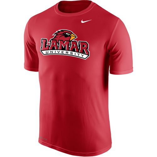 Nike Men's Lamar University Dri-FIT Legend 2.0 Short Sleeve T-shirt - view number 1