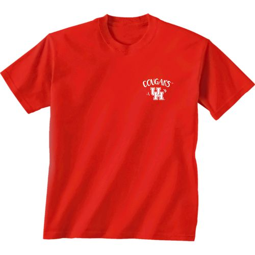 New World Graphics Girls' University of Houston Where the Heart Is Short Sleeve T-shirt - view number 2
