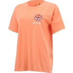 New World Graphics Women's Sam Houston State University Comfort Color Puff Arch T-shirt - view number 3