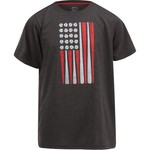 BCG Boys' USA Flag Short Sleeve T-shirt - view number 1