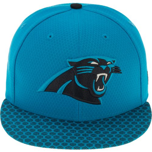 New Era Men's Carolina Panthers Onfield Sideline '17 59FIFTY Cap - view number 1