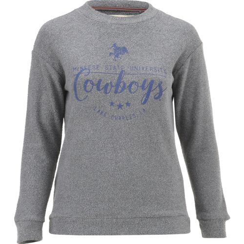 Three Squared Juniors' McNeese State University Finley Comfy Terry Pullover