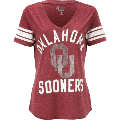 G-III for Her Women's University of Oklahoma Big Game Top
