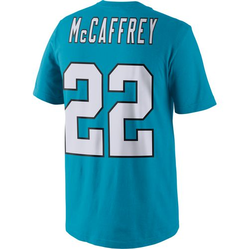 Nike Men's Carolina Panthers Christian McCaffrey Player Pride Name and Number T-shirt