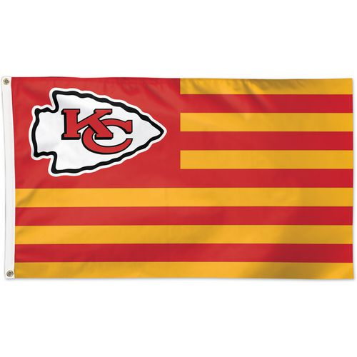WinCraft Kansas City Chiefs Americana 3 ft x 5 ft Deluxe Flag