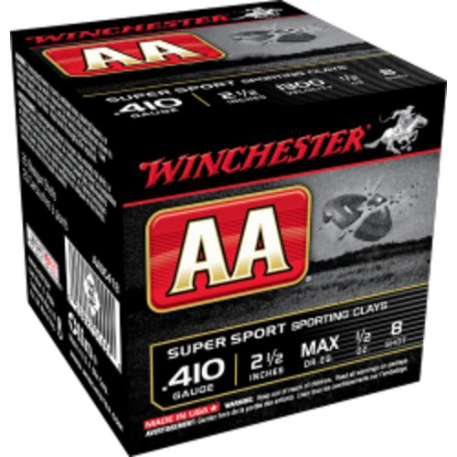 Display product reviews for Winchester AA 410 Gauge 2-1/2 in Super Sport Target Loads