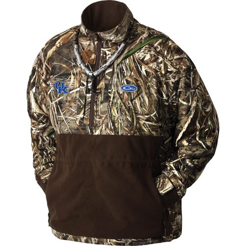 Drake Waterfowl Men's University of Kentucky Eqwader 1/4-Zip Pullover