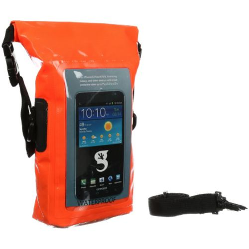 Display product reviews for geckobrands Waterproof Phone Tote