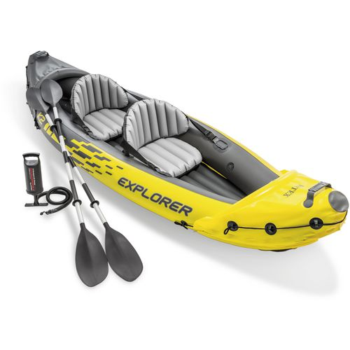 Intex explorer k2 kayak academy for Fishing kayak academy