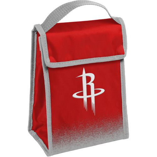 Forever Collectibles Houston Rockets Gradient Hook-and-Loop Lunch Bag