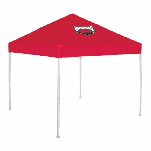 Display product reviews for Logo University of Arkansas Economy Tent