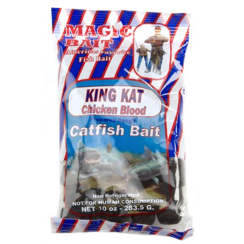 Display product reviews for Magic Bait King Kat Chicken Blood Catfish Bait