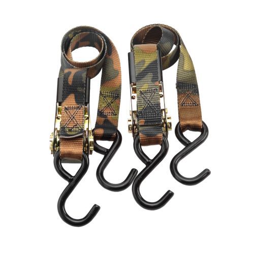 "Highland 1"" Camo Ratchet Tie-Downs 2-Pack"