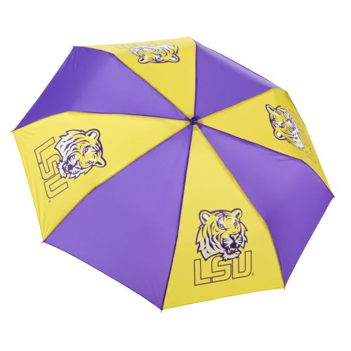 Image for Storm Duds Louisiana State University Super Pocket Mini Umbrella from Academy