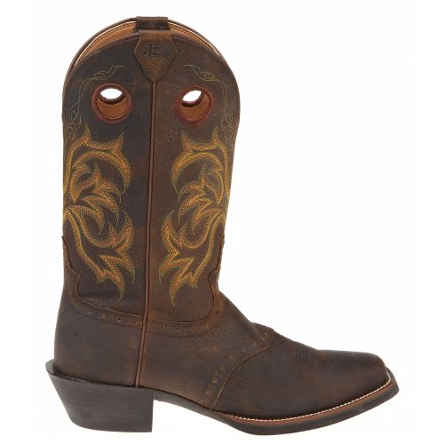 Display product reviews for Justin Men's Stampede Punchy Western Boots