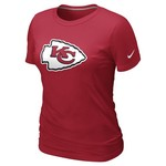 Nike Women's Kansas City Chiefs Basic Logo T-Shirt