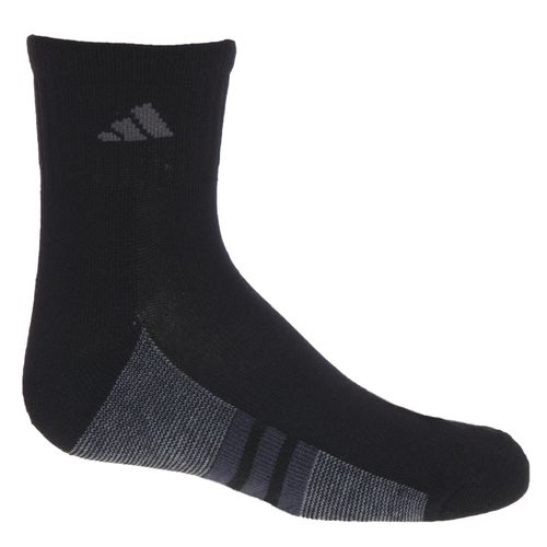 adidas™ Kids' Graphic Quarter Socks 6-Pack