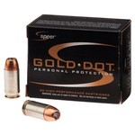 Speer® Gold Dot Personal Protection .45 Automatic 185-Grain Handgun Ammunition