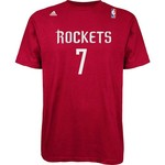 adidas Men's Jeremy Lin #7 Game Time T-shirt