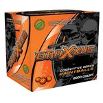 X-Ball Blaze Competition Paintballs 1,000-Pack
