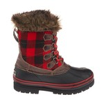 Polar Edge® Women's Insulated Plaid Duck Boots