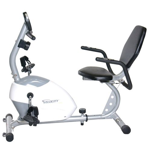 Velocity Fitness Magnetic Recumbent Exercise Bike