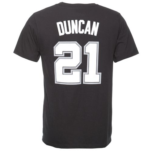 adidas™ Men's Tim Duncan #21 Game Time T-shirt
