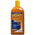 NO-AD® Sport SPF 50 Sunscreen Lotion