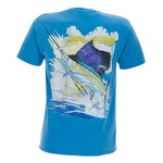 Guy Harvey Men's Vintage Collection Contender T-shirt