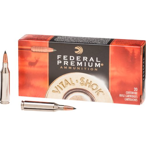 Federal Premium® Vital-Shok® Trophy Copper™ .243 Win. 85-Grain Centerfire Rifle Ammun