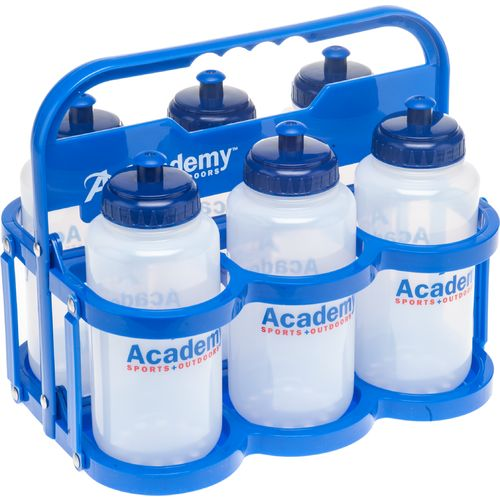 Academy Water Bottle Carrier and Bottles