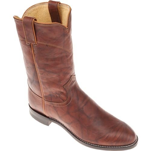 Justin Men's Ropers Marbled Deerlite Western Boots - view number 4