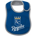 Majestic Infant Boys' Kansas City Royals Little Player Creeper, Bootie and Bib Set