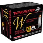 Winchester Train and Defend .38 Special 130-Grain Centerfire JHP Pistol Ammunition - view number 1