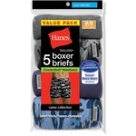 Hanes Men's TAGLESS® Camo Boxer Briefs 5-Pack