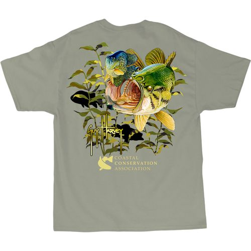 Guy Harvey Men s CCA Lunker Camo T-Shirt