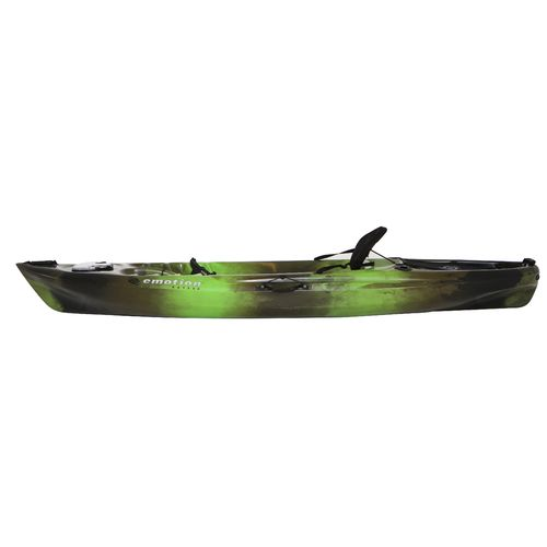 Emotion stealth angler 10 39 3 sit on top fishing kayak for Sit on vs sit in kayak for fishing