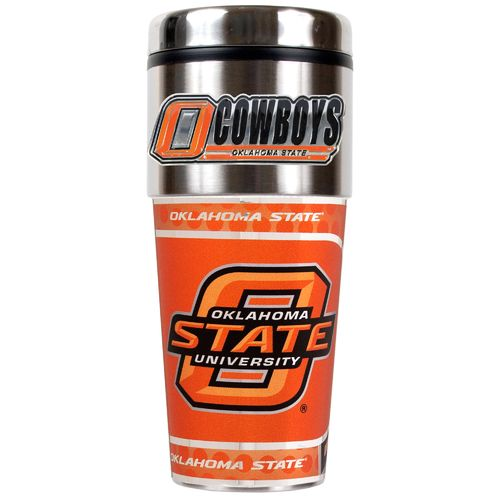 Great American Products Oklahoma State University 16 oz. Travel Tumbler
