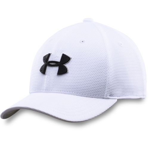 Under Armour Boys' New Blitzing Stretch Fit Cap