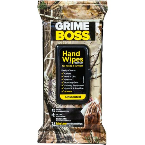 Grime Boss Heavy Duty Hand and Everything Wipes 24-Pack