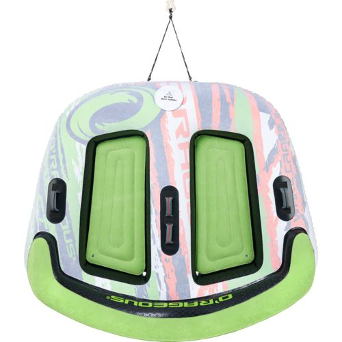 O'Rageous Wakecraze II 2-Person Inflatable Sit-In Towable