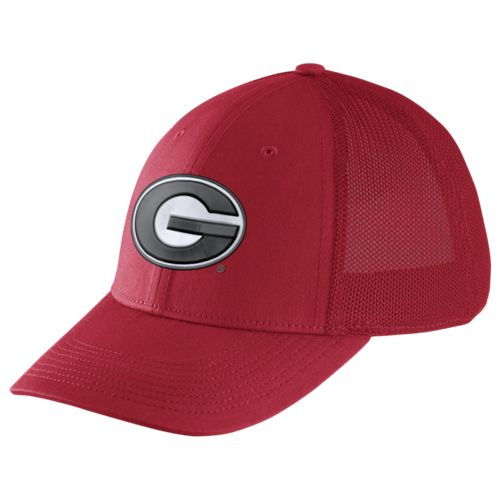 Nike™ Men's University of Georgia Dri-FIT Legacy91 Mesh Back Swoosh Flex Cap