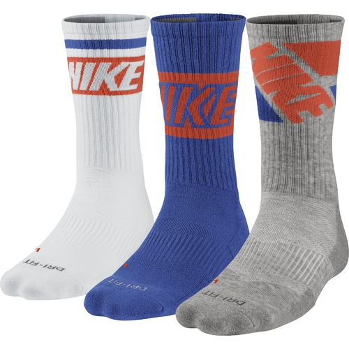 Display product reviews for Nike Adults' Dri-FIT Fly Rise Crew Socks 3-Pair