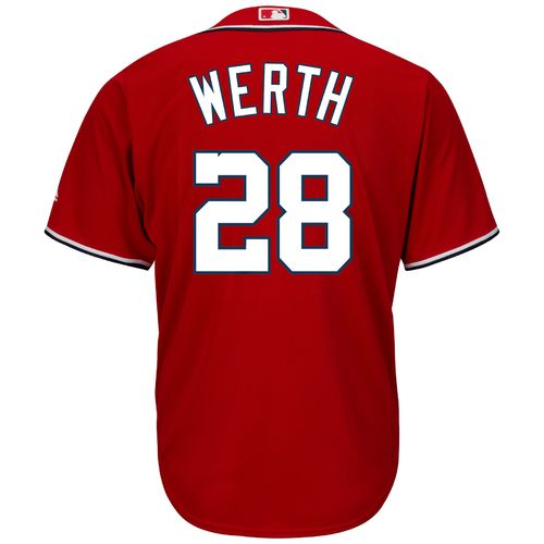 Majestic Men's Washington Nationals Jayson Werth #28 Cool Base® Jersey - view number 1