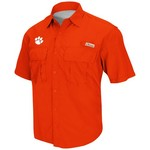 Colosseum Athletics Men's Clemson University Swivel Fishing Shirt