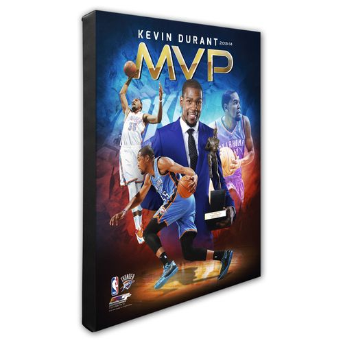"Photo File Oklahoma City Thunder Kevin Durant MVP Portrait Plus 8"" x 10"" Photo"