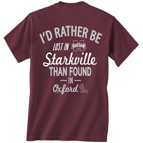 New World Graphics Men's Mississippi State University Lost and Found T-shirt