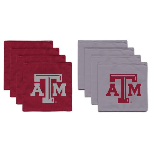 BAGGO® Texas A&M University 9.5 oz. Replacement Beanbag Toss Beanbags 8-Pack